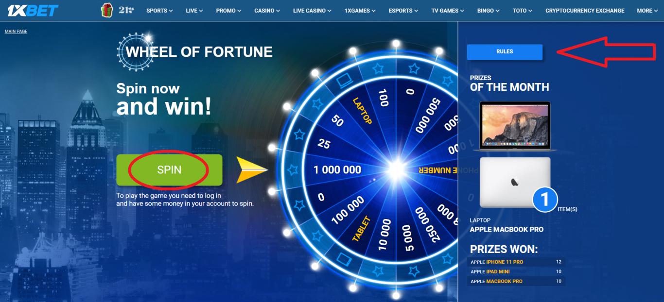How to withdraw 1xBet bonus 5000