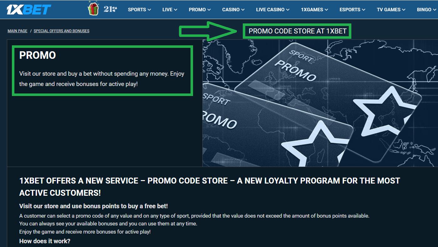 promo code for 1xbet registration